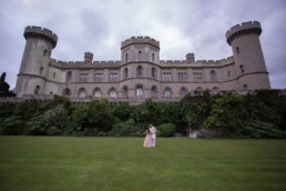 Wedding Photo Castle Eastnor Castle